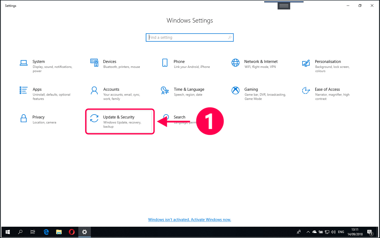 How to reset Windows 10 to default settings without deleting